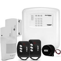Alarme Residencial Comercial Sem Fio Ecp Alardmax 4 Zona Iso