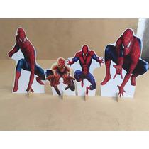 Kit Displays De Chão Homem Aranha 8 Peças