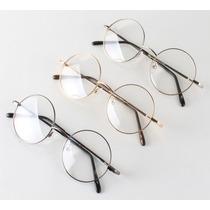 Armação P/ Óculos De Grau Round/redonda, Harry Potter/lennon