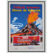 Album Surpresa - Show Da Natureza - Incompleto - F(166)