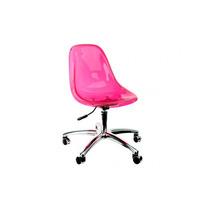 Cadeira Acrílica Charles Eames Dkr Office - Em Varia Cores