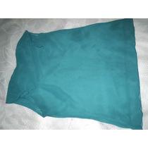 Blusas Azul Royal E Turquesa Tamanho M Lote