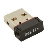 Adaptador Wireless Mini Wifi Usb Nano Receptor Rede 150mbps
