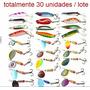 Kit Com 30 Iscas Para Peixes, Pesca De Sucesso