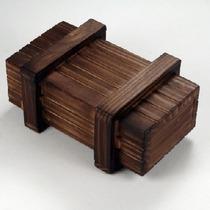 Puzzle Wood Box ---caixa Mágica Pequena----pronta Entrega