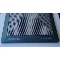 Microfone Shure Beta 91a - Ideal Bumbo Frete Grátis - Id8888