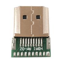 Conector Hdmi Para Solda Com Placa De Fibra Reforçado