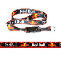 Chaveiro Cordão Com Fecho Moto Red Bull Frete Gratis