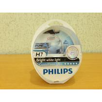 Lampada Philips Crystal Vision H7 4300k Farol Super Branca