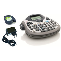Rotulador Etiquetadora Letratag Lt100t Dymo C/1 Fita + Fonte