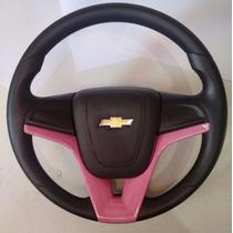 Volante Modelo Cruze Onix Astra Corsa Vectra Meriva Rosa
