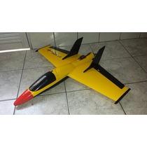 Kit Aermodelo Six Fun Jet Elétrico De 77 Cm - Corte Em Cnc