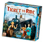 Ticket To Ride Rails Sails - Jogo De Tabuleiro Importado Dow