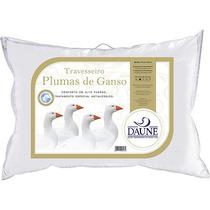 Travesseiro 100% Plumas De Ganso 50x70cm Daune
