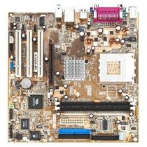 Placa Mãe 462 Asus A7v266-mx Onboard Suporta Duron/athlon Xp