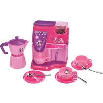 Máquina De Café Expresso C/ Água Real Barbie Chef Lider 2082