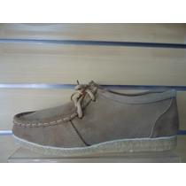 Sapato Camurça Solado Em Latex Tipo 775