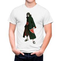 Camiseta Branca Naruto Anime Orochimaru Na Akatsuki 591