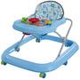 Andador Musical Toy P/ Bebê Tutti Baby Azul Selo Inmetro
