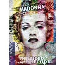 Dvd Madonna Celebration The Video Collection Novo Lacrado