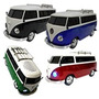 Mini Perua Kombi Mp3 Som Portátil Rádio Fm Usb Pendrive