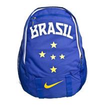 Mochila Bolsa Nike Seleção Brasileira Brasil Azul Original