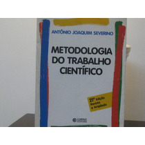 Metodologia Trabalho Científico Antonio Joaquim Severino