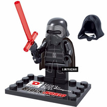 Boneco Kylo Ren Star Wars Lego Compativel