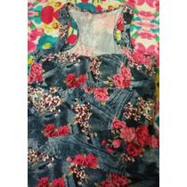 Vestido Floral Costas Nadador M