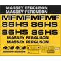 Kit Adesivos Massey Ferguson Mf 86hs - Decalx