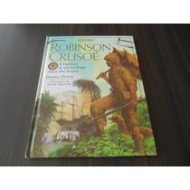 Robinson Crusoé -a Aventura De Um Náufrago Numa Ilha Deserta