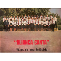 Lp Alianca Canta Vozes De Uma Industria