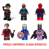 Miniaturas Lego Compatível Dc Comics Avengers Homem De Ferro