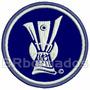 Tpc066 Troféu Uefa Champions League 8 Cm Tag Patch Bordado