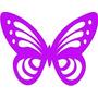 Kit Recorte Scrapbooking Butterfly (borboleta) 25unidades