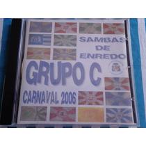 Cd Sambas De Enredo 2006 Rj Grupo De Acesso C Novo Raridade