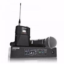 Microfone Shure Sem Fio Qlxd - Beta 58a