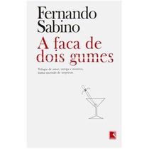 Livro A Faca De Dois Gumes Fernando Sabino