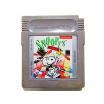 Fita Jogo De Game Boy - Snoopy