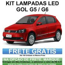 Kit Lampadas Led P/ Gol G5 / G6 - Super Promoçao Anx Leds