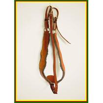 P09 Peiteira Peitoral Argolas Inox (ñ Alpaca) P/ Cavalo Mula