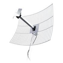 Antena Direcional De Grade Aquário 20 Dbi Com Cabo 10 Metros