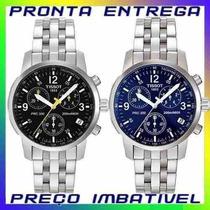 Relógio Tissot Prc200 Prc-200 Branco Preto Azul Originais !
