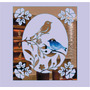 Espelho Pássaros, Casal, Quadro, Janela, Decorativo, Super