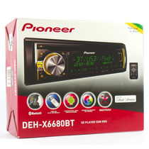 Cd Player Pioneer Deh-x6680bt Mixtrax + Usb + Ipod / Iphone