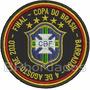 Tpc125 Final Copa Do Brasil 2010 Santos Patch Bordado 7,5 Cm