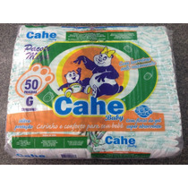 Fralda Cahe Baby Mega P/50 - M/50 - G/50 - Eg/40
