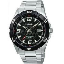 Relógio Casio Mtp-1292 D Caixa Aço Vidro Mineral Wr-50 Mt Pt