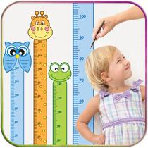 Adesivo Régua De Altura Crescimento Decorativa Infantil Bebê