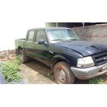 Sucata Ford Ranger 4x4 Cab Dupla 2.5 Tdi